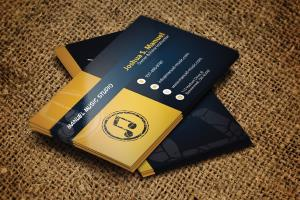 Portfolio for profession,creative,modern business card