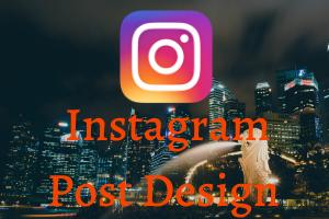 Portfolio for Instagram Post Design