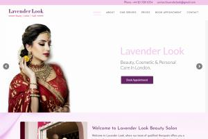Lavender Look Beauty Salon Website