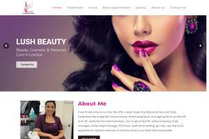 Lush Beauty Website