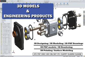 Portfolio for 3D Modeling and designing