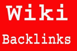 Portfolio for I can Create Wikipedia Backlinks