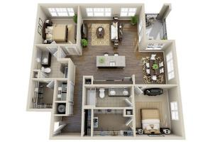 Portfolio for 3d Floor Plan By Sketchup Fastest