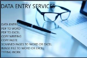 Portfolio for Web Research | Data Entry Specialist