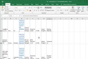 Portfolio for Data cleansing/Email Verifying Expert
