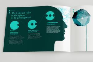 Portfolio for Making marketing kit, companies booklets