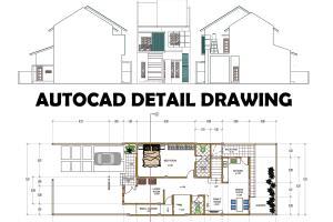 Portfolio for Conversion to 2d Autocad Design