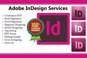 Portfolio for Handle Adobe Indesign Projects
