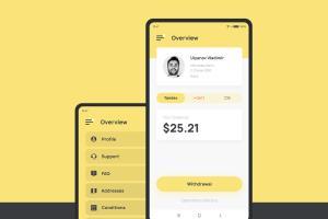 Portfolio for Mobile UX/UI designer