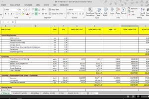 Portfolio for Civil Engineer | Estimator