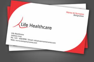 Portfolio for Graphics designer, (Business card)