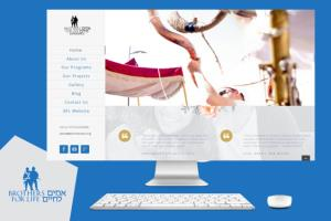 Develop website to Brothers for life experience