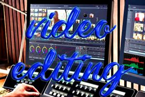 Portfolio for audio video editor, music producer