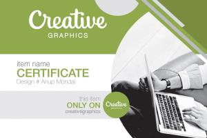 Portfolio for Certificate Design