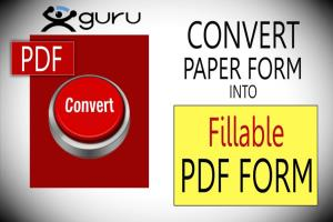 Portfolio for Fillable and Interactive PDF Forms