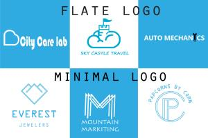 Portfolio for Logo design, business logo, Post Design