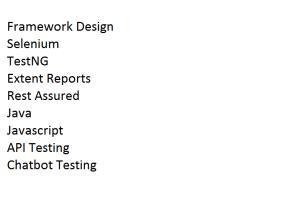Portfolio for API testing and automation