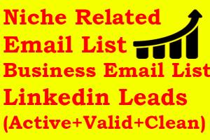 Portfolio for Email List Building