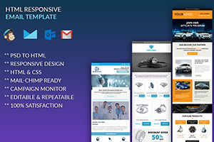 Portfolio for Graphic Designer & HTML Email Developer