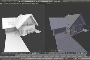 Portfolio for Blender 3D Modeling
