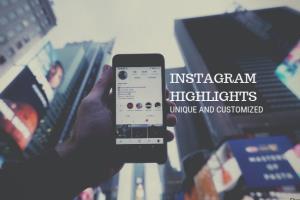Portfolio for Customise your Instagram story highlight