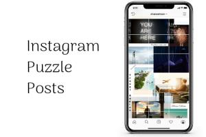 Portfolio for Design your Instagram feed with puzzle