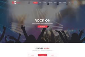 Portfolio for Web Template (UI Design)