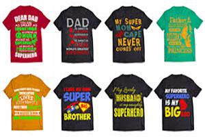Portfolio for T-shirt Designing
