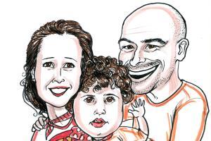 Portfolio for Caricature artist