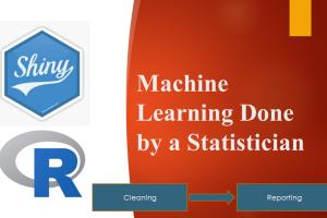 Portfolio for Machine Learning Using R And R Shiny