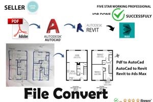 Portfolio for AutoCad Floor plan and Elevation
