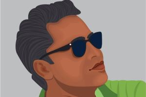 vector portrait