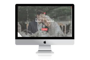 Portfolio for Wedding Website
