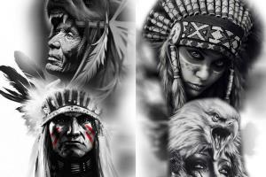 Portfolio for i will do custom tattoo design for you