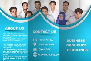 Portfolio for I will design amazing corporate brochure
