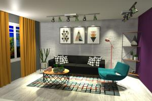 Portfolio for Interior design and 3D visualization