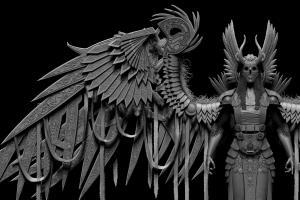 Portfolio for 3D Artist - Digital Sculptor