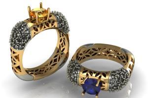 Portfolio for Jewelry CAD Designer