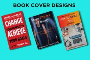 Portfolio for Design professional book & e book cover