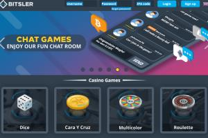 Portfolio for gaming website using bitcoin