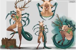 Hibrid - Character Design