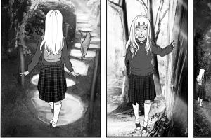 Manga pages