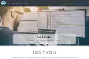 Portfolio for Landing Page
