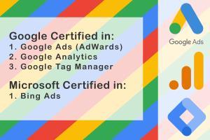 Portfolio for Professional Google Ads Marketer