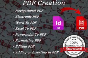 Portfolio for PDF Creation