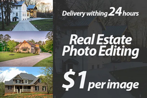 Portfolio for Adobe Photoshop & Real estate image edit