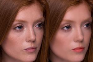 Portfolio for Face retouch