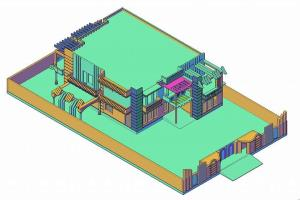 Portfolio for AutoCAD 2D,3D Architecture Map Designer