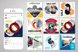 Portfolio for Facebook & Instagram Post Design