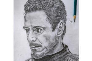 Portfolio for Pencil portrait Drawings